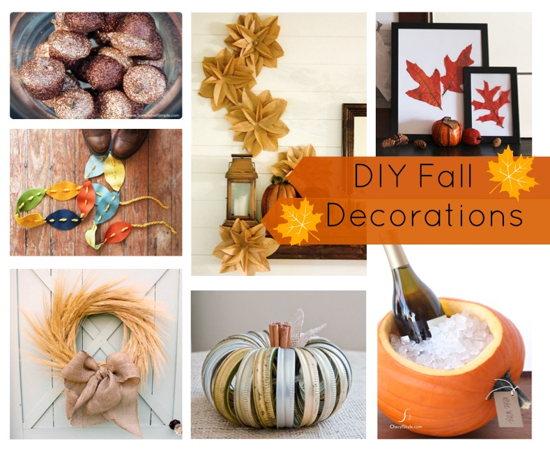 Diy fall decorations freeflys for Fall decorating ideas with construction paper