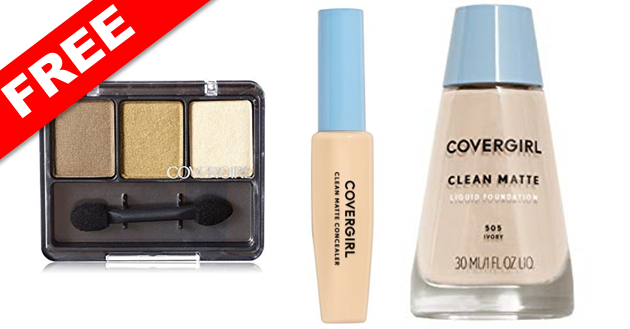 Free Covergirl Makeup Products