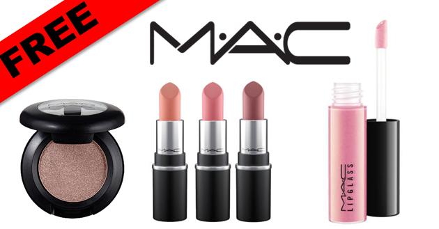 Free Mac Lipstick Lipglass Or Single