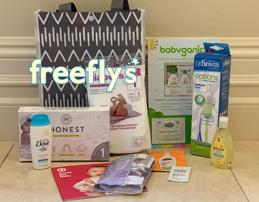 free target baby samples bag