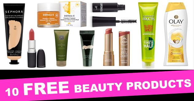10 Free Beauty Samples To Request Now