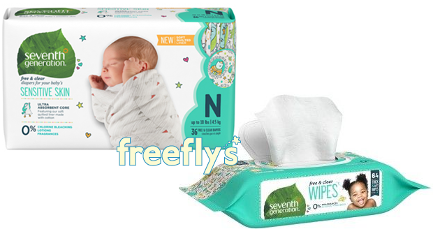 free seventh generation wipes & diapers