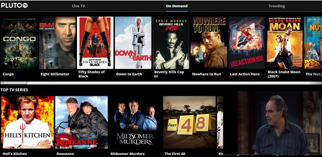 pluto free movies