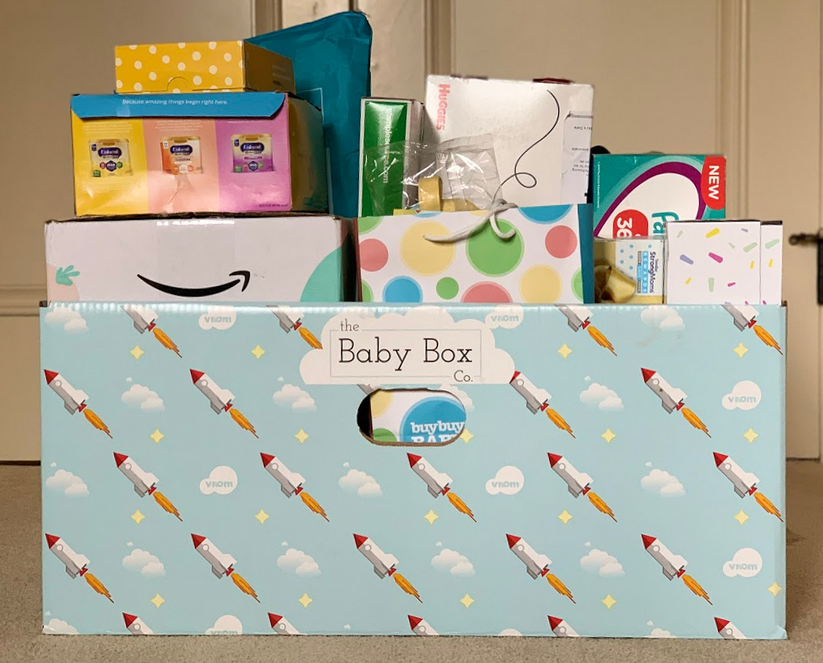 free baby sample boxes