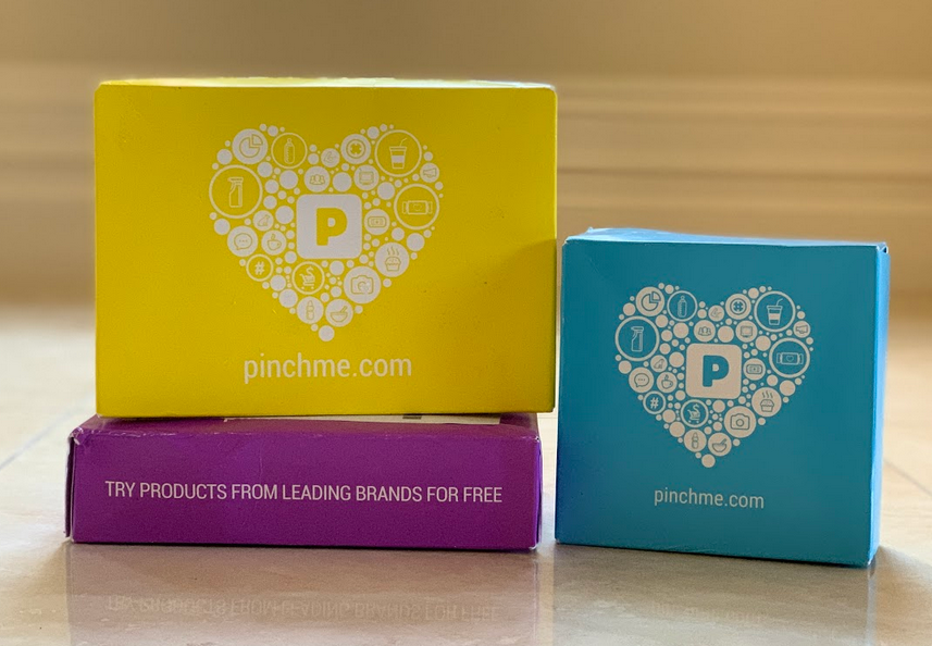 free pinchme sample box