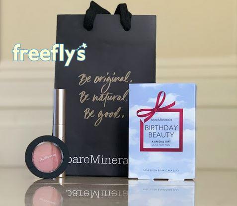 bareminerals birthday freebie