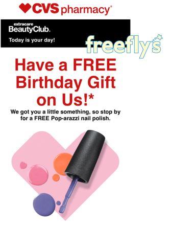 cvs birthday freebie