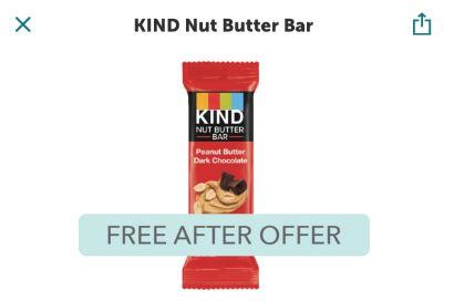 free kind bar ibotta