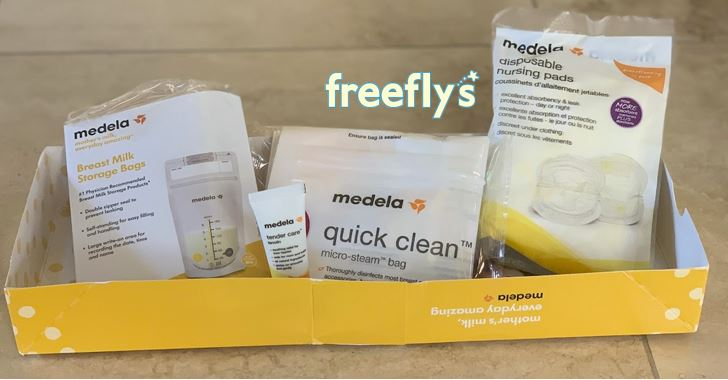 free medela baby samples