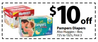 baby diapers coupons
