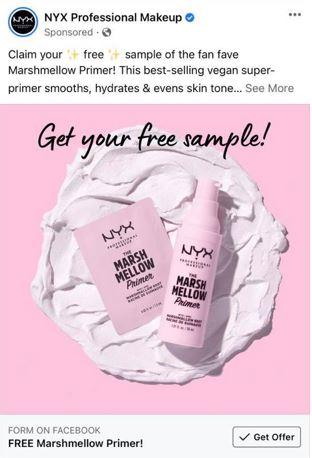 free nyx primer sample