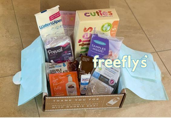 free noobie baby box