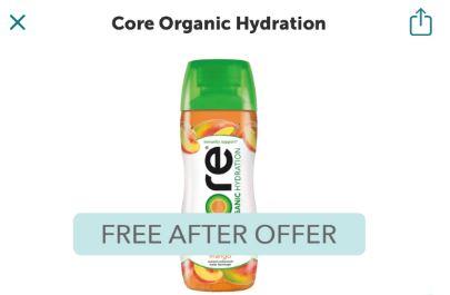 ore organic hydration ibotta freebie