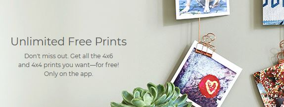 shutterfly unlimited free prints