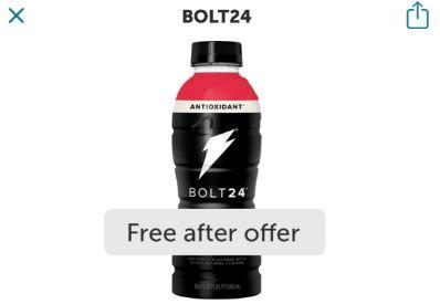free bolt24 ibotta