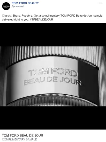 free tom ford beau du jour fragrance sample