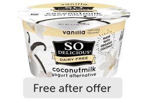 ibotta so delicious yogurt freebie