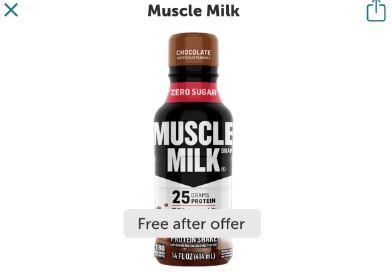 muscle milk ibotta freebie