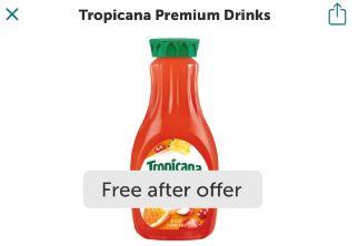 tropicana ibotta freebie