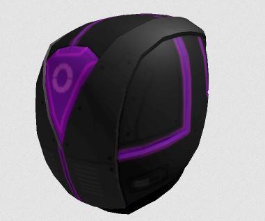 free cyber helmet roblox