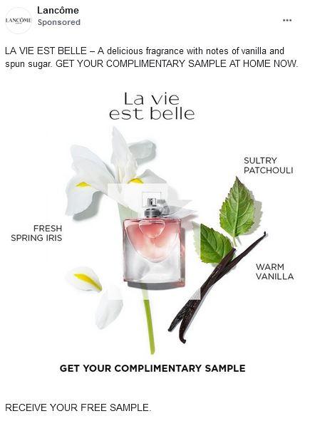 free la vie est belle sample