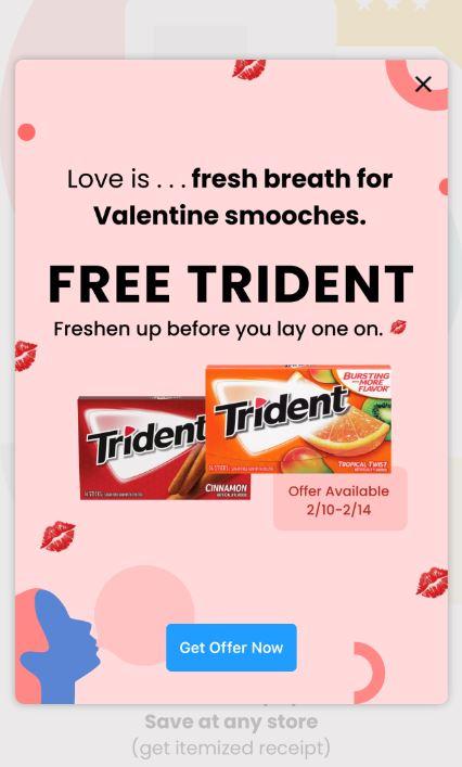 free trident couponscom