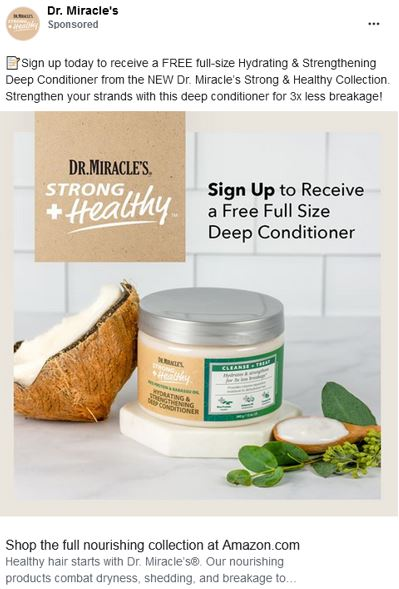 dr miracle conditioner free