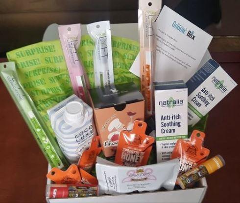 free daily goodie sample box