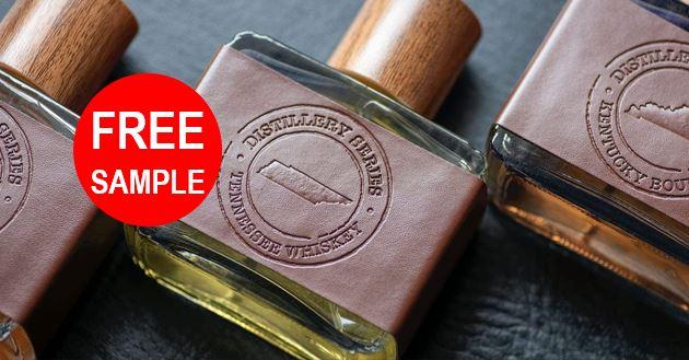 free distillery series fragrance sample