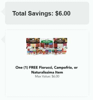 free fiorucci coupon