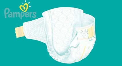 free pampers baby diapers