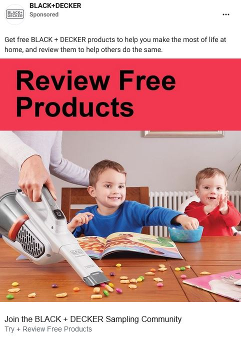 free black decker products