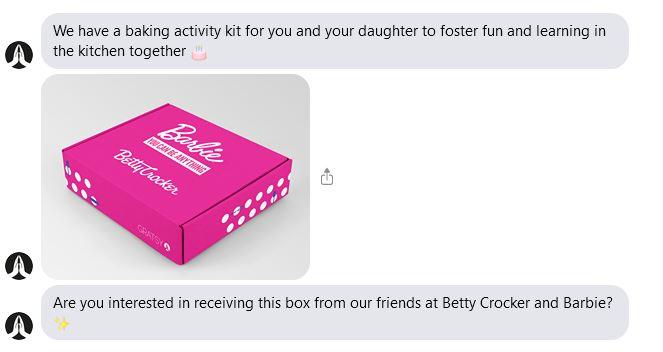 free gratsy betty crocker box