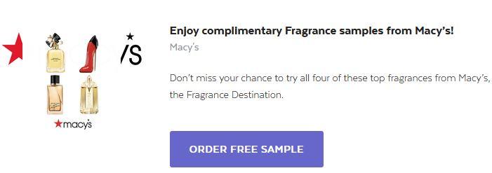 free macys fragrance sample0821