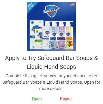 free safeguard soaps
