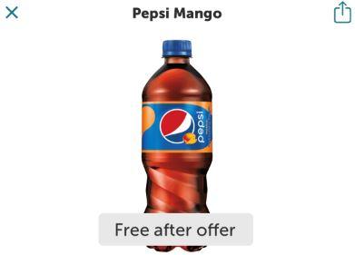ibotta pepsi mango freebie