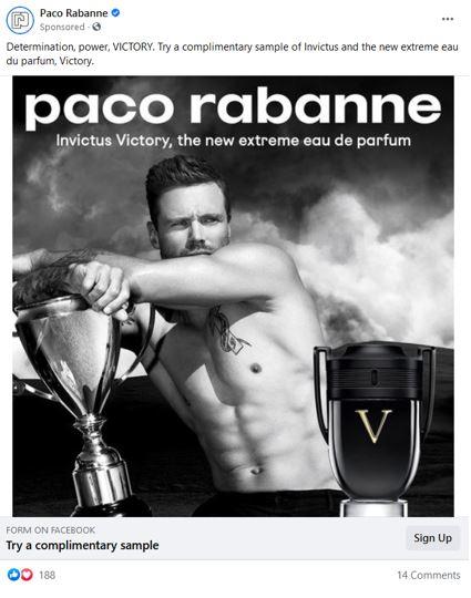 free paco rabanne victory sample