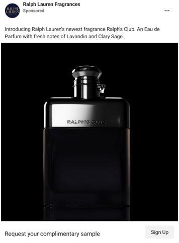 free ralph lauren fragrance sample