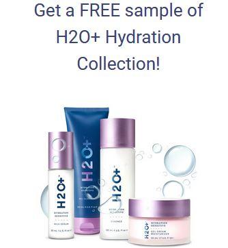 free h2o sample pack peekage