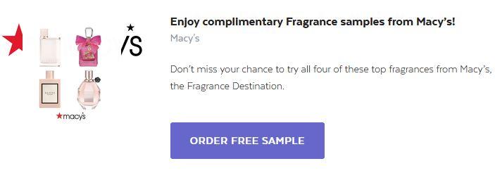 free macys fragrance box