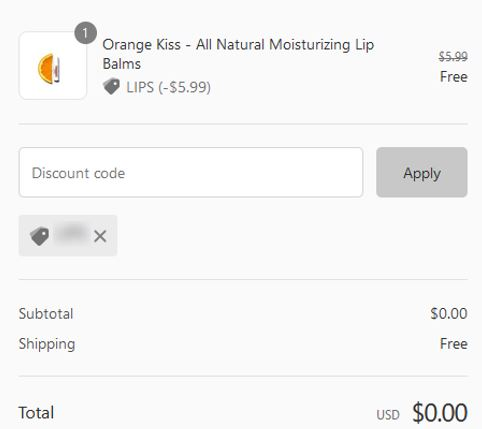 free essentialeveryting lip balm